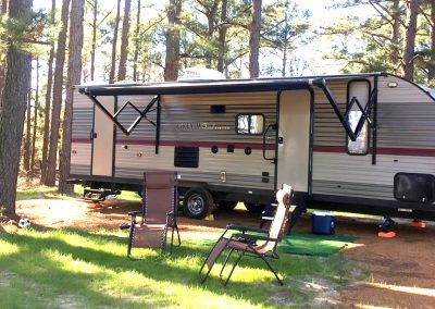 rv park guest in bastrop texas