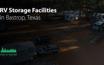 RV Storage Facilities in Bastrop, Texas
